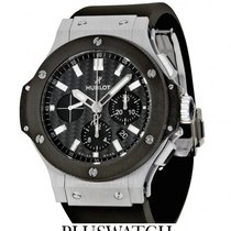 Hublot Big Bang Ceramic Black Dial 44mm 301.SM.1770.RX T da...