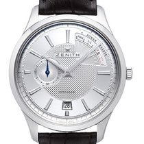 Zenith Captain Power Reserve Acero 40,00mm Plata