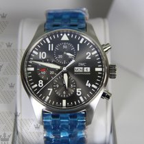 萬國 IW377719   Pilot Spitfire Automatic Chronograph  Grey Dial