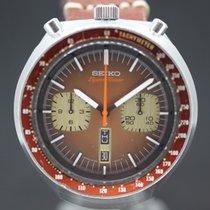 Seiko Bullhead Chronograph Brown Dial cal 6138