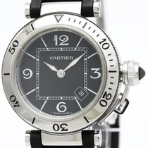 カルティエ (Cartier) Pasha Seatimer Steel Quartz Ladies Watch...