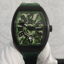 Franck Muller Vanguard V 45 SC DT TT NR MC VE New Titanium 53,7mm Automatic