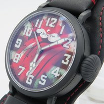 Zenith Type 20 Gmt Tribute To The Rolling Stones New W/ B&p