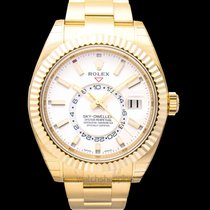 Rolex Sky-Dweller Yellow gold 42.00mm White United States of America, California, San Mateo