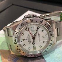"Rolex Explorer II White Dial ""Ref 16570"" Serial Y"