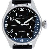 IWC Big Pilot Acier 46mm Noir Arabes France, LYON
