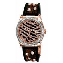 Rolex Datejust Rose gold 36mm No numerals UAE, Dubai
