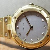 Cartier Santos (submodel) Very good Yellow gold 33mm Quartz Canada, Victoria British Columbia