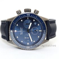 Blancpain Chronograph 43.6mm Automatic 2017 new Fifty Fathoms Bathyscaphe Blue