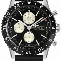 Breitling Chronoliner Steel 46mm Black United States of America, California, Moorpark