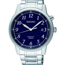 Seiko Steel 41mm Quartz SKA777P1 new