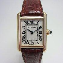 Cartier Gelbgold 22mm Quarz 2442 gebraucht Deutschland, Essen