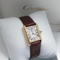 Cartier Tank Louis Cartier 2442 Sehr gut Gelbgold 22mm Quarz Deutschland, Essen