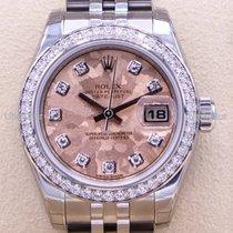 Rolex Lady-Datejust nuevo 2016 Automático Reloj con estuche y documentos originales 179384