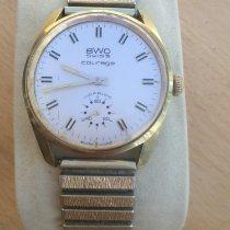 BWC-Swiss Acero y oro 34mm Cuerda manual 854010 usados
