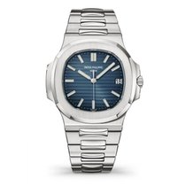 Patek Philippe Nautilus Steel 40mm Blue No numerals United States of America, Iowa, Des Moines