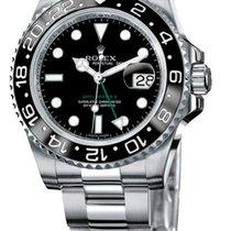 Rolex GMT-Master II použité 40mm Černá Datum GMT Ocel
