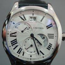Cartier Drive de Cartier Stahl 40mm Silber Römisch