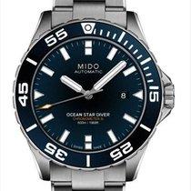 Mido Ocean Star Stahl 44mm Blau Deutschland, Berlin