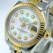 Rolex pre-owned Automatic 26mm Mother of pearl Sapphire Glass