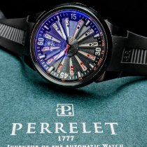 Perrelet Turbine Poker pre-owned 44mm Black Rubber