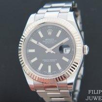 Rolex Datejust II Staal 41mm Zwart Nederland, Maastricht