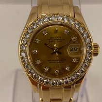 Rolex 69298 Oro amarillo 1994 Lady-Datejust Pearlmaster 29mm usados
