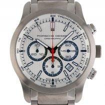 Porsche Design new Automatic Small Seconds Guilloche Dial 42mm Titanium Sapphire Glass