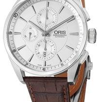 Oris Artix Chronograph Acero Plata