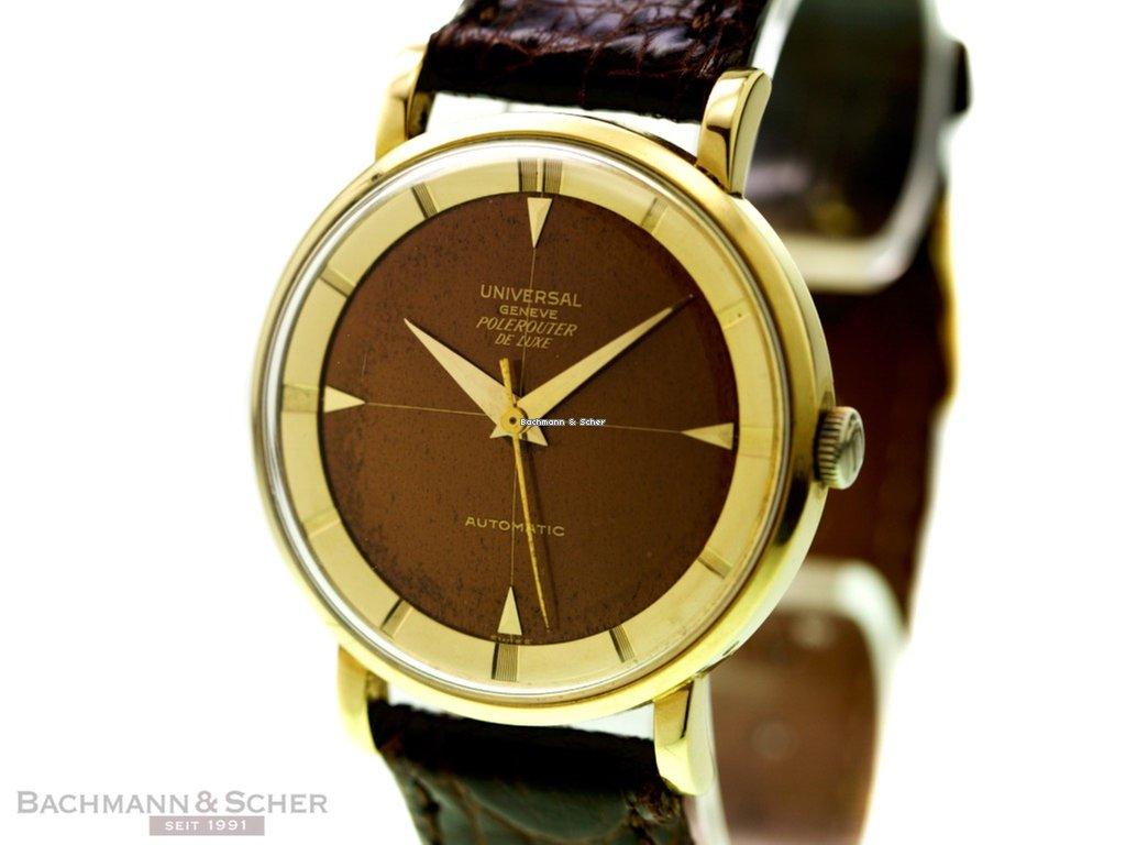 4cd9bd896f7 Comprar relógios Universal Genève Ouro amarelo
