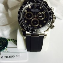 Rolex Daytona Oysterflex Diamond Black Dial ref. 116519LN