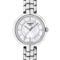 Tissot T0942101111100 Flamingo Mother of Pearl Dial Ladies Watch