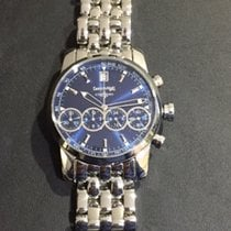 Eberhard & Co. Chrono 4 Steel - Blue Dial - Ref 31041