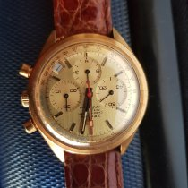 Zenith Yellow gold Automatic Gold (solid) No numerals 39mm pre-owned El Primero