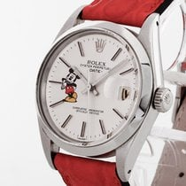 Rolex Oyster Perpetual Date Mickey Mouse 1972 Edelstahl mit...
