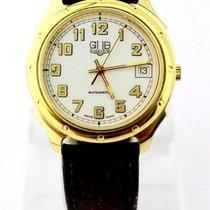 GUB Glashütte Original  Herren Armbanduhr DDR Gold Optik ETA...