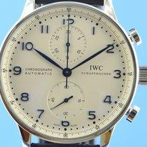 IWC Portugieser Chronograph gebraucht 40.9mm Stahl