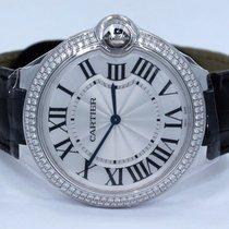 Cartier Ballon Bleu 40mm Oro blanco 40mm Plata Romanos
