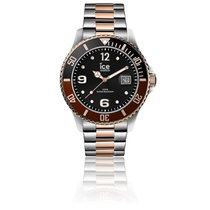 Ice Watch Montre ICE Steel Black Silver 016302 za Kč 4 397 k prodeji ... e0cab27f72d