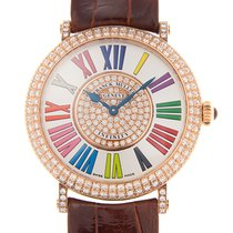 Franck Muller Color Dreams Oro rosado 38mm Blanco