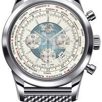 Breitling Transocean Chronograph Unitime Steel 46mm United States of America, New York, New York