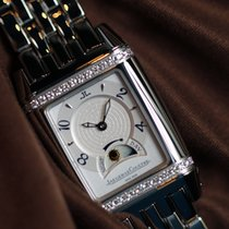 Jaeger-LeCoultre Reverso Duetto 296.8.74 Unworn Steel 25mm Manual winding