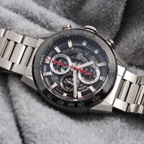 TAG Heuer Steel 43mm Automatic CAR201V.BA0714 pre-owned