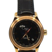 Ball Trainmaster Cleveland Express Rose gold 41mm Black United States of America, New York, New York