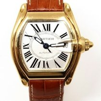 Cartier Roadster new Automatic Watch with original box and original papers 18 K Gold Cartier W62005V2