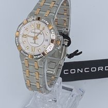 Concord Saratoga Gold/Steel 28mm Mother of pearl Roman numerals United States of America, New York, New York