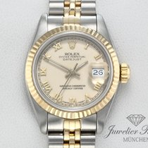 Rolex Lady-Datejust Acero y oro 26mm Champán Romanos