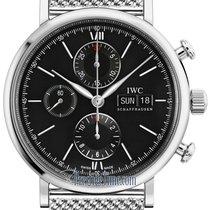 IWC Portofino Chronograph new 2021 Automatic Chronograph Watch with original box IW391010