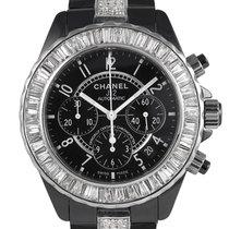 Chanel J12, Diamond Set Bezel/Bracelet, Ref: H0940