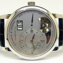 A. Lange & Söhne Platina 38.5mm Corda manual 704.025  /  704025 novo